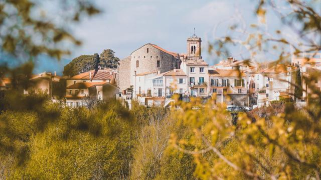 Vue sur la ville du Boulou