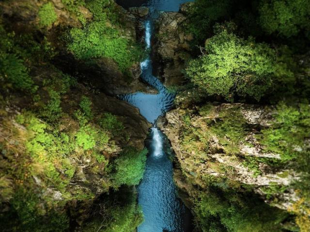 Cascade de Baoussous à Céret