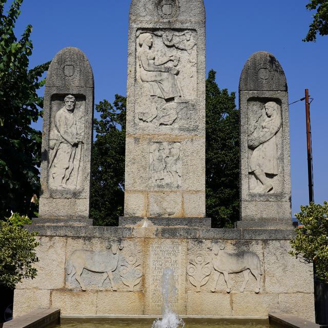 Monument du canal d'arrosage