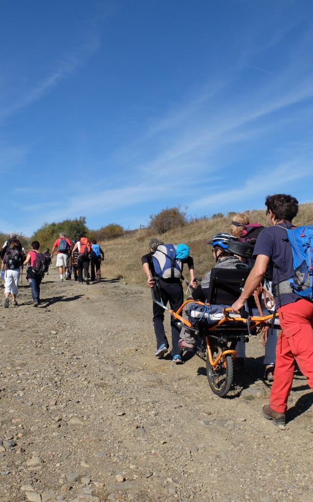 Handicap randonnée nature
