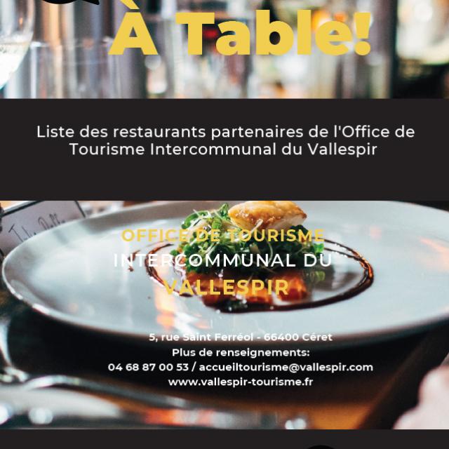 Brochure Restaurants 2021