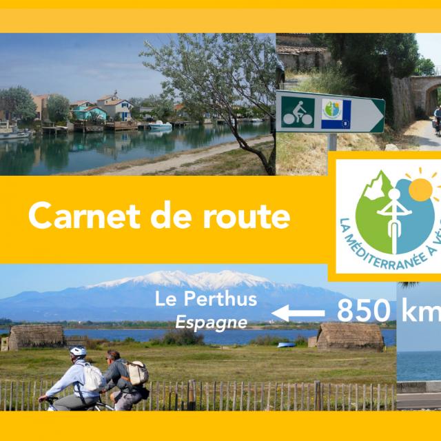 Carnet de route Méditerranée à vélo