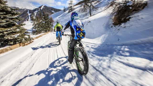 Fatbike / VTT sur neige