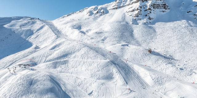 Le domaine skiable de Vars est un véritable terrain de jeu le lendemain des chutes de neige