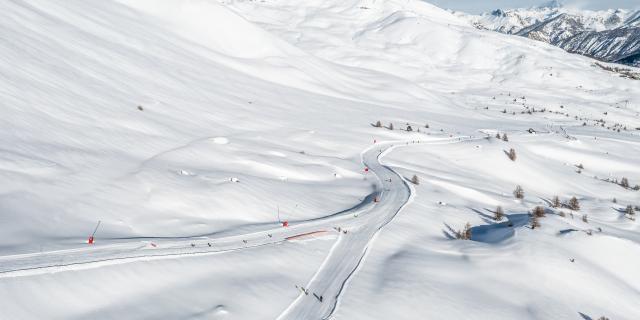 Domaine skiable de Vars, un terrain de jeu unique au sein d'un environnement magnifique