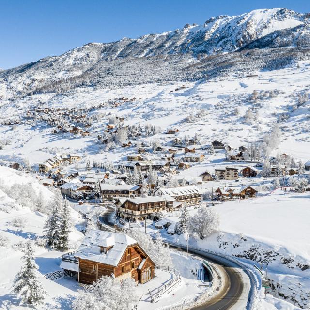 Sainte Marie sous la neige