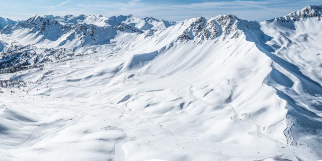 Domaine skiable de Vars et ses grands espaces