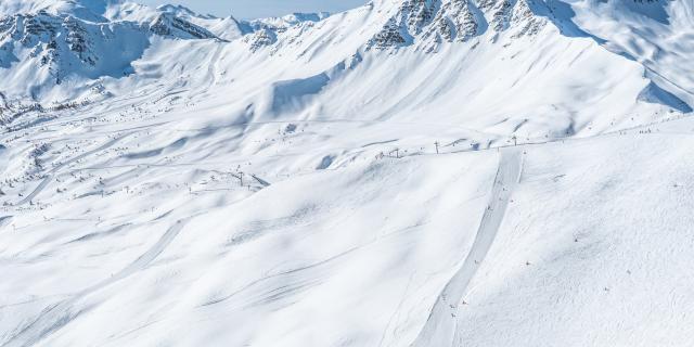 Domaine skiable de Vars, la Forêt Blanche