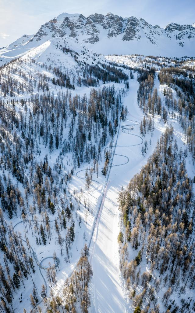 Luge sur rail du Caribou, une attraction incontournable ouverte à tous