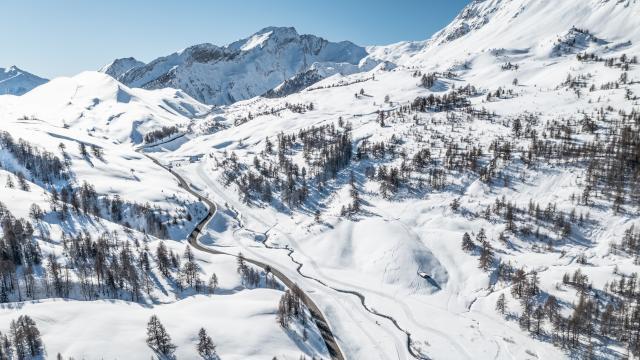 Le Col de Vars.