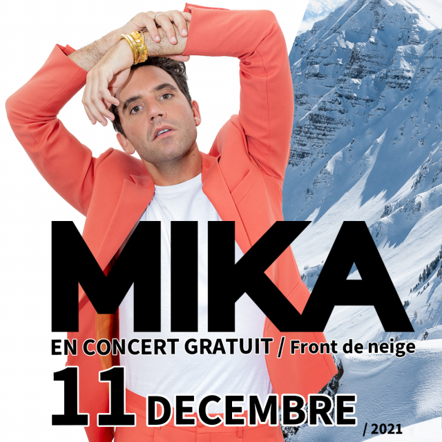 Mika en concert gratuit pour l'ouverture du domaine skiable