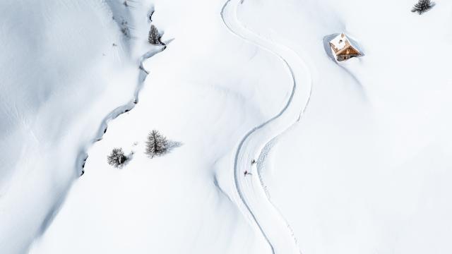Boardercross des Heureux, un itinéraire ludique en bord de piste à tester absolument