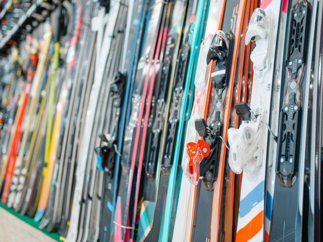 Location de matériel de sports d'hiver
