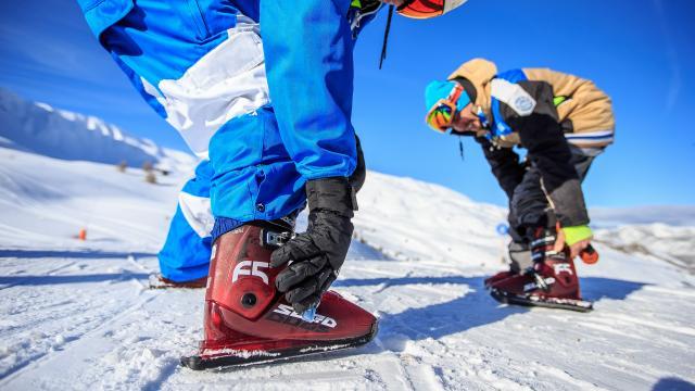 Sled dogs sur le domaine skiable de Vars, une nouvelle glisse pour de toujours plus de plaisir