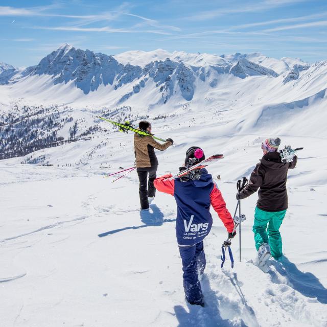 Départ au ski entre copines
