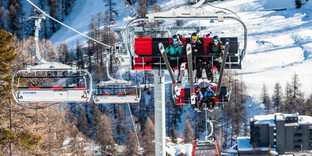 Ski entre amis