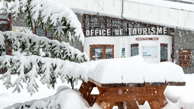 Chutes de neige importantes à Vars