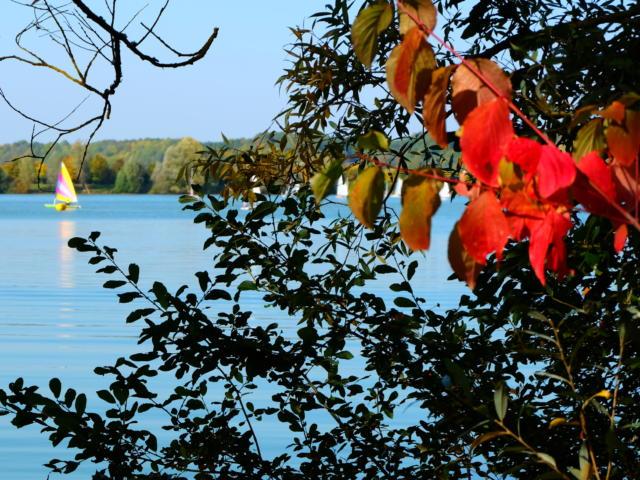 Activités nautiques sur le plan d'eau de Villiers-sur-Loir