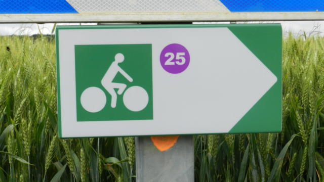 Balisage circuits cyclo en Vendômois