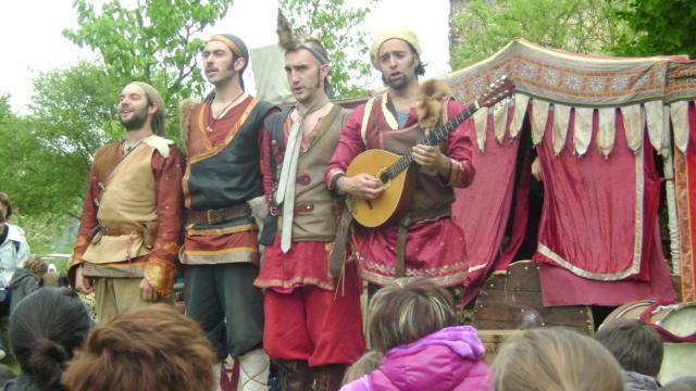 Fête médiévale à la Commanderie templière d'Arvill
