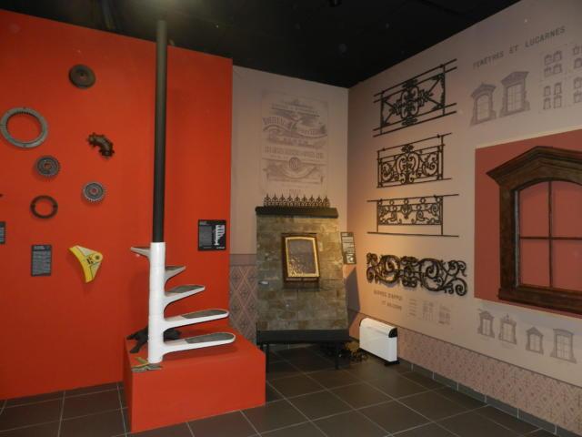 Vue d'ensemble du musée de la fonderie à Fréteval