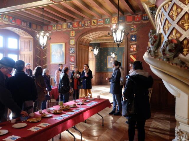 Eductour prestataires touristiques vendômois-château de Courtanvaux
