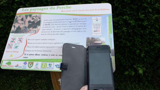 Application gratuite Ecobalade- circuit de Bouffry