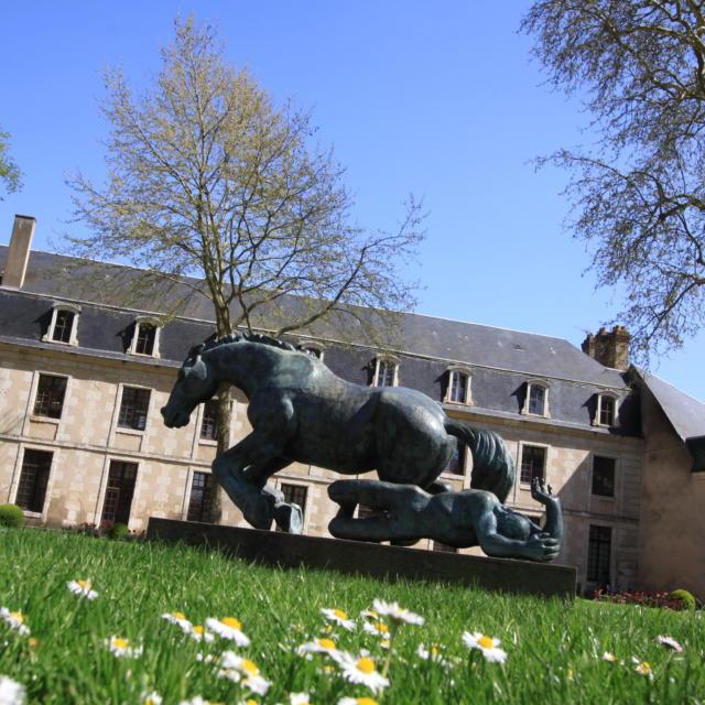Le cavalier tombé de Louis Leygue-Parc Ronsard à Vendôme