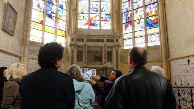 Visite guidée à l'abbaye de la Trinité à Vendôme