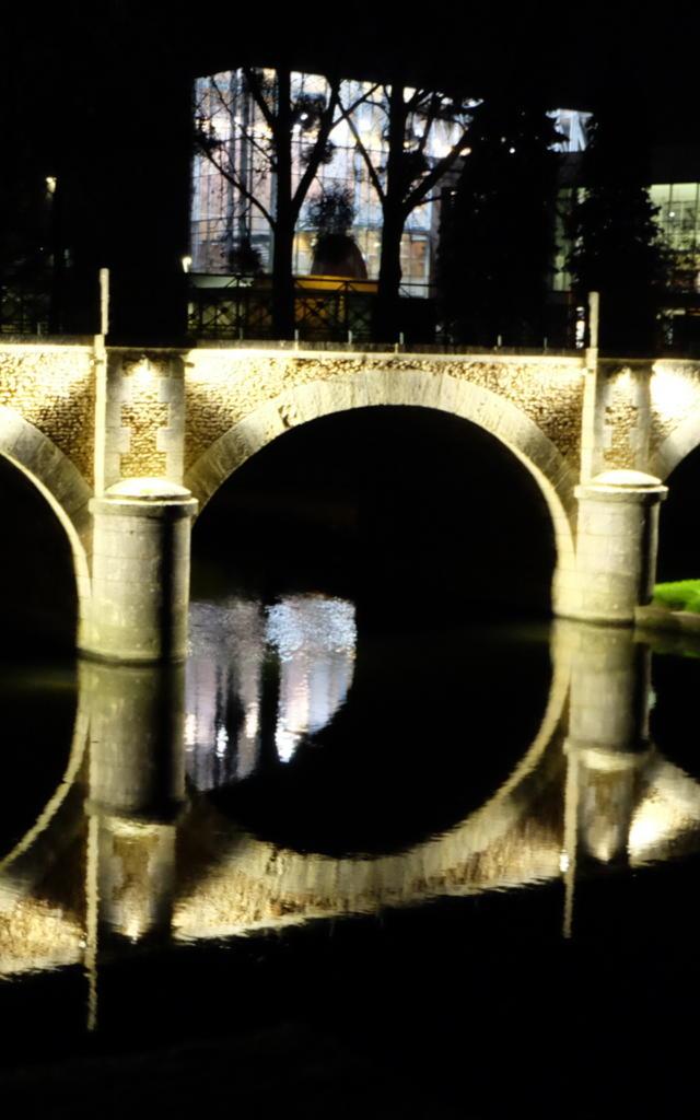 Vendôme By Night (à proximité de la salle de spectacle le Minotaure à Vendôme)