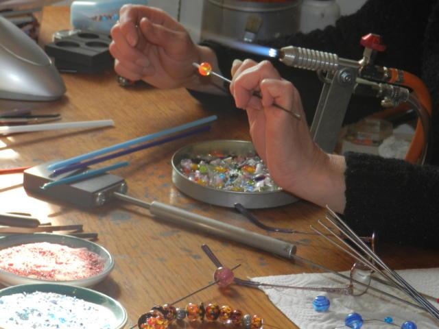 Atelier Claramints à Trôo