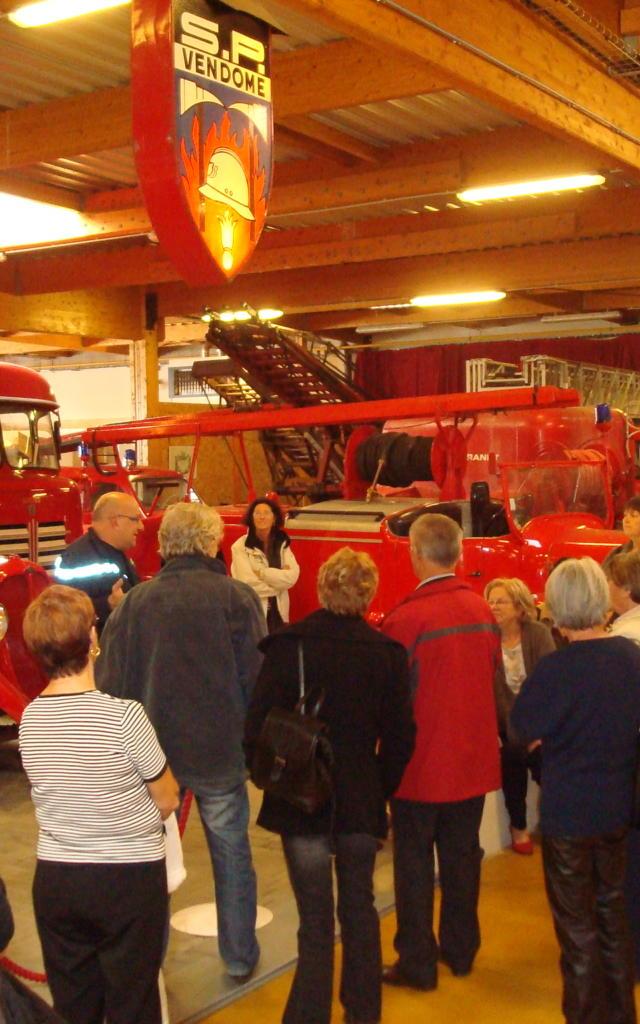 Visite guidée au musée des sapeurs-pompiers de Vendôme