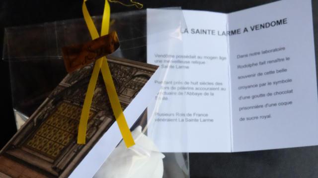 Sainte Larme de Rodolphe à Vendôme