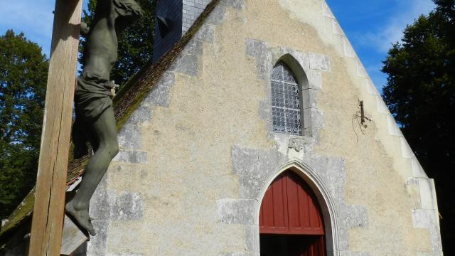 Chapelle château De La Mézière