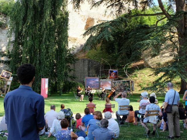 Concert des stagiaires Académie Quatuor Voce à Vendôme