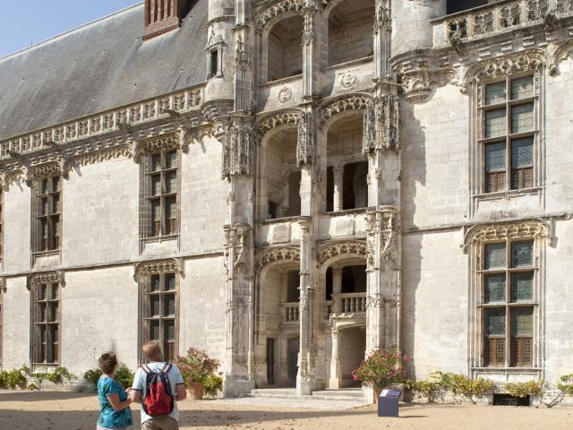 Escalier Renaissance Chateau Châteaudun