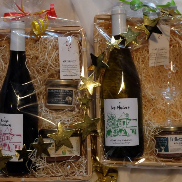 Coffret de vin et produits locaux - Gaec Creuzet