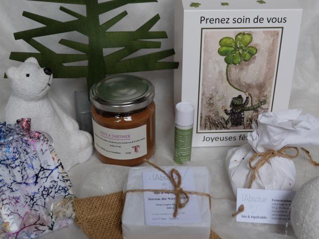 Boutique De Noël Coffrets L'absolue ©C.GONTIER Vendôme Tourisme]