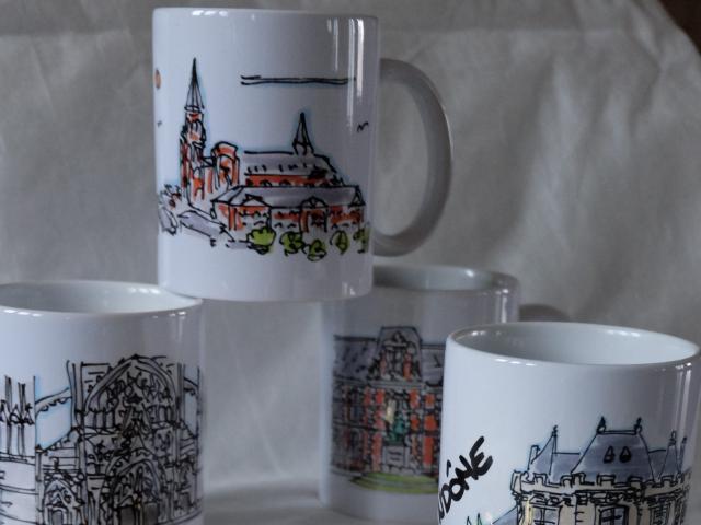 Boutique De Noël Mugs Hpo