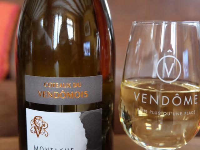 Verre Vendôme & vins aoc coteaux du Vendômois