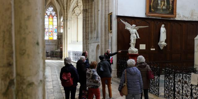 Visite Guidée Abbaye de la Trinité à Vendôme