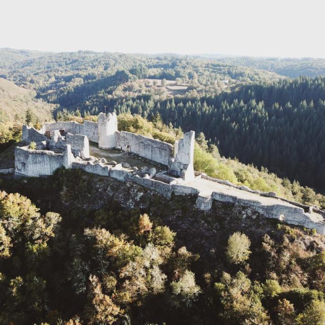 Château de Ventadour - Moustier Ventadour