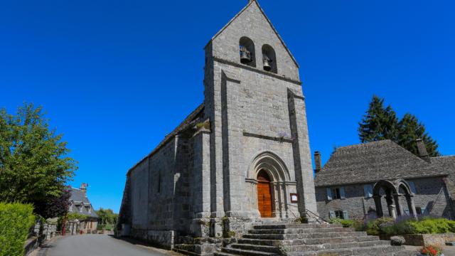 Eglise Champagnac La Noaille