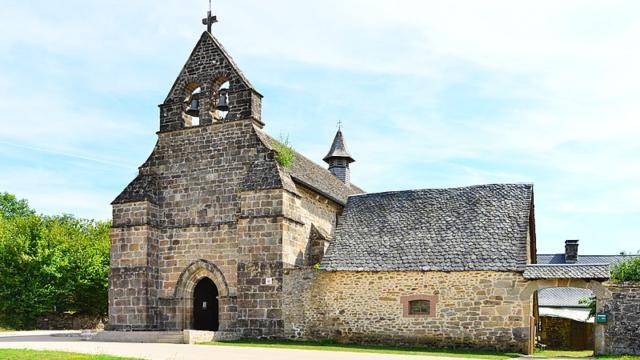 Eglise de Saint Hilaire Foissac