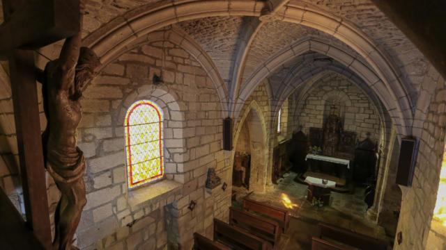 Intérieur de l'église de Sarran