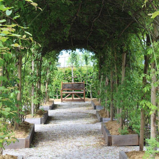 Le jardin Médiéval du Centre de découverte du Moyen-âge