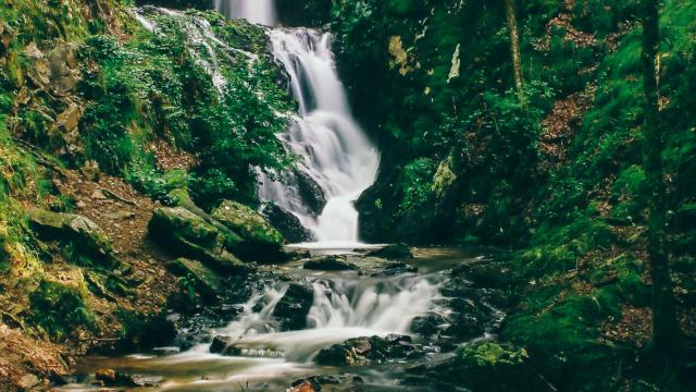 Les cascades de Neyrat - Lapleau