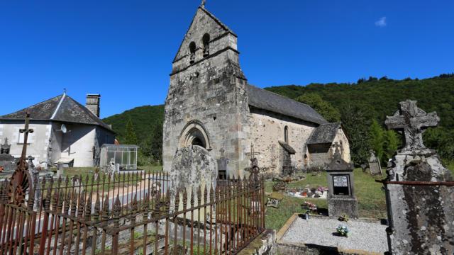 Eglise Saint-Martin - Laval-sur-Luzège