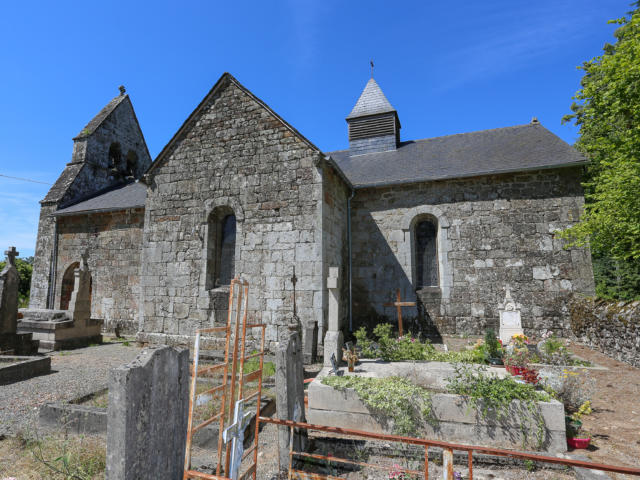 Eglise - Le jardin