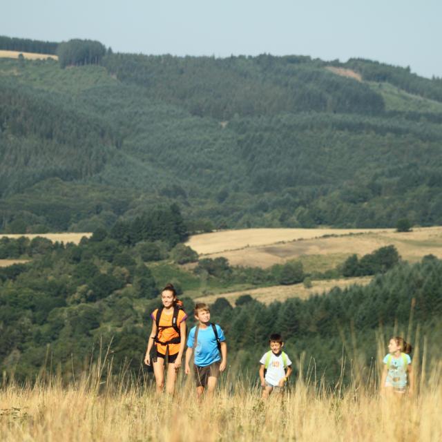 Randonnee Familiale Plateau de Millevaches